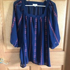 Umgee blouse, size medium